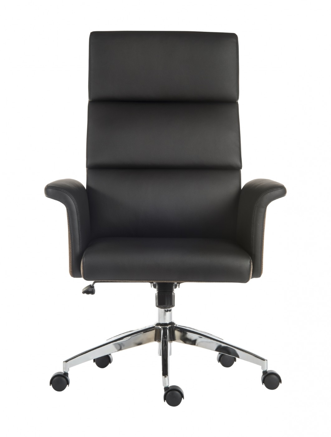 Office Chairs   Teknik Elegance High Back Executive Office Chair 6950BLK    Enlarged View
