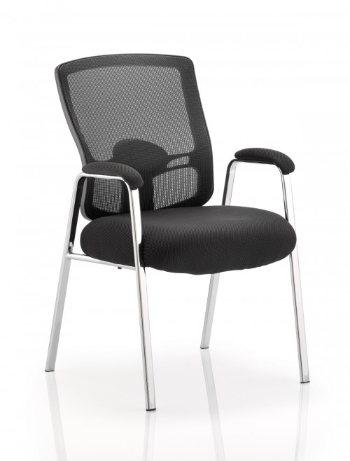 Office Chairs - Dynamic Portland Visitor Chairs with Arms BR000115