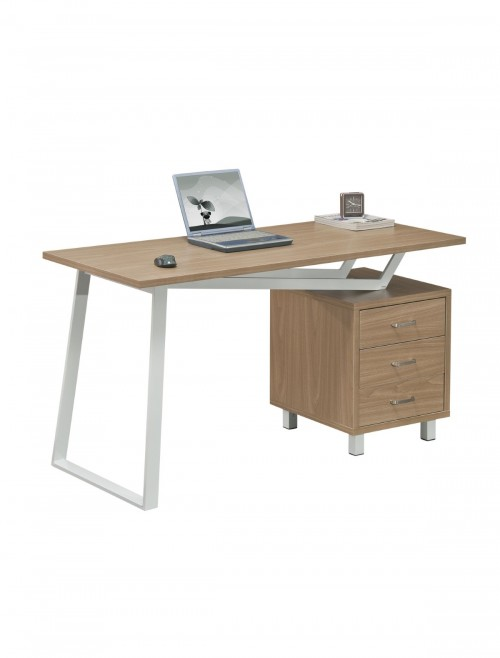 Home Office Desk Alphason Seattle Computer Desk AW23533