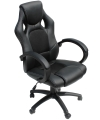 Daytona Gaming Chair in All Black