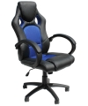 Daytona Gaming Chair in Black and Blue