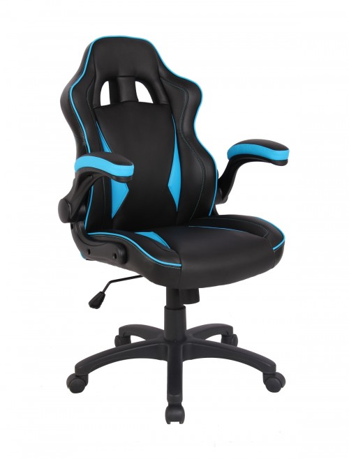 Gaming Chairs - E Tinsley Predator Office Chairs BCP/H600/BK/BL