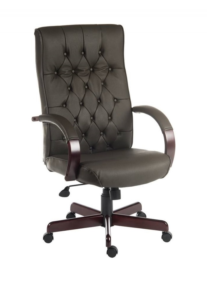 office chairs warwick traditional exec leather chair b8501 121