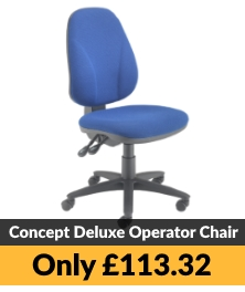 TC Concept Deluxe Operator Chairs CH0801