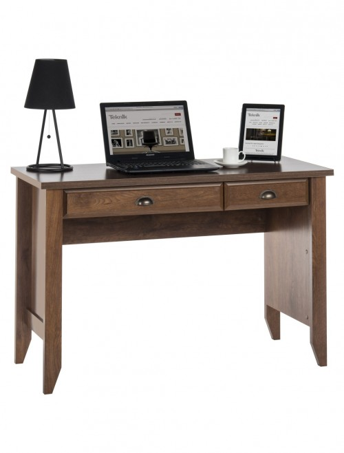 Teknik Laptop Desk Oiled Oak 5410416