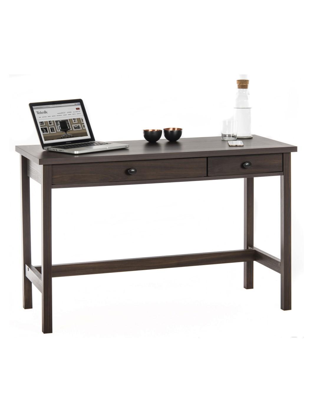 Teknik Study Desk Rum Walnut 5418227 121 Office Furniture