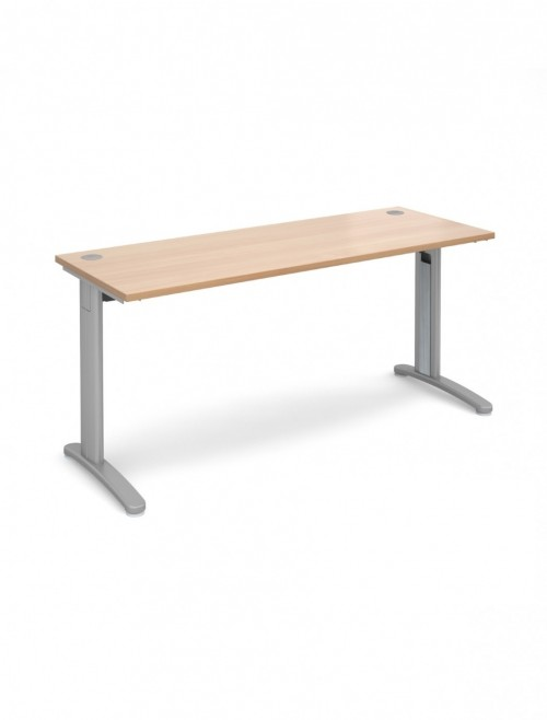 Beech Office Desk 1600x600mm Dams TR10 Desk T616B