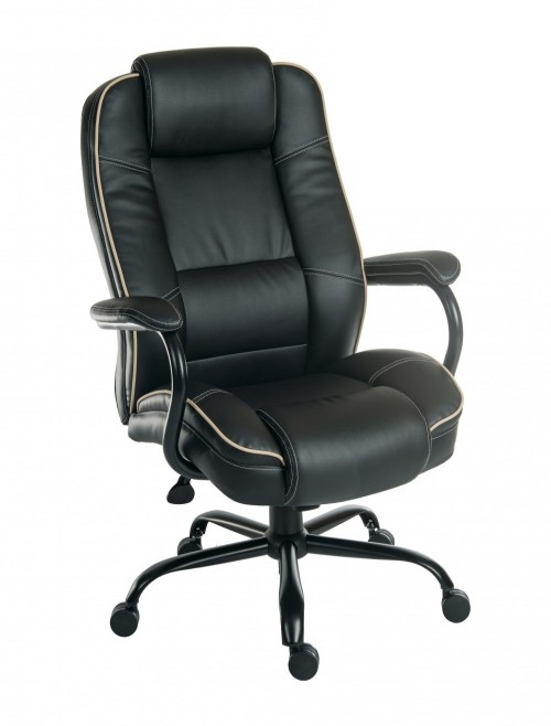 Office Chairs Goliath Duo Heavy Duty Chair 6925BLK