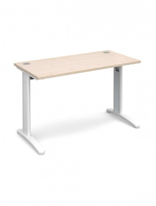 Maple Office Desk 1200x600mm Dams TR10 Desk T612M