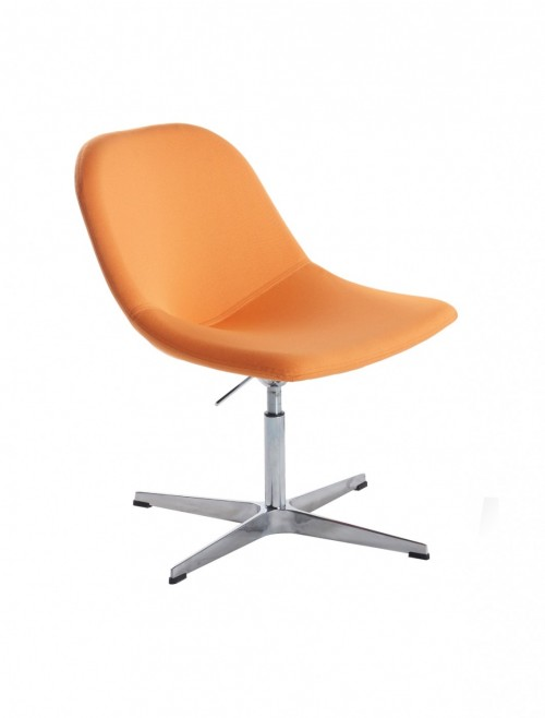 Soft Seating - Dams Medley Lounge Chairs MED02 4 Star Swivel Base