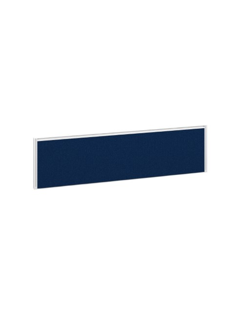 Dams Straight Fabric Desk Screen A1400 1400x380mm