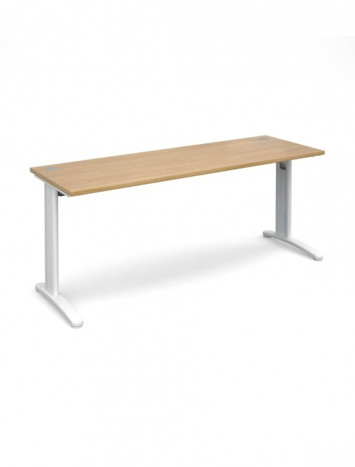 Oak Office Desk 1800x600mm Dams TR10 Desk T618O