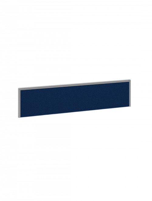 Dams Straight Fabric Desk Screen A1600 1600x380mm