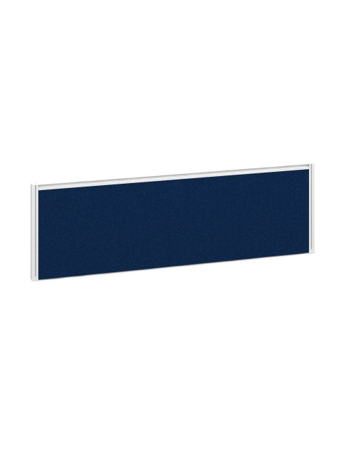 Dams Straight Fabric Desk Screen A1200 1200x380mm