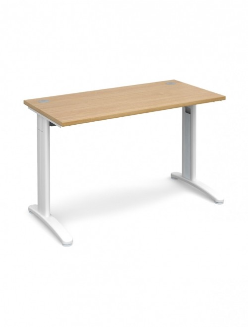 Oak Office Desk 1200x600mm Dams TR10 Desk T612O