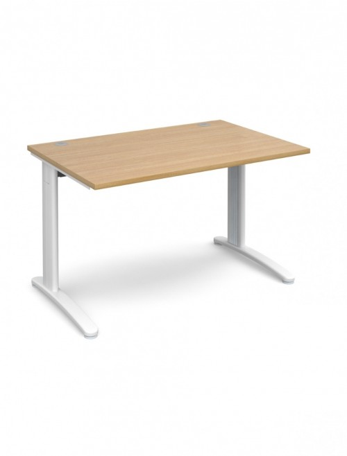 Oak Office Desk 1200x800mm Dams TR10 Desk T12O