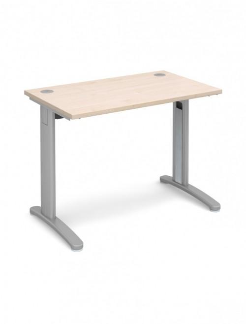 Maple office desk 1000x600mm dams tr10 desk t610m 121 office furniture - Maple office desk ...