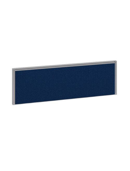 Dams Straight Fabric Desk Screen A1185 1185x380mm