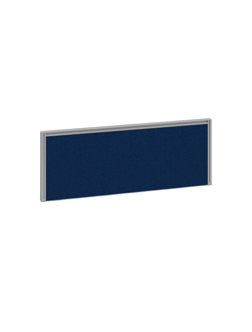 Dams Straight Fabric Desk Screen A1000 1000x380mm