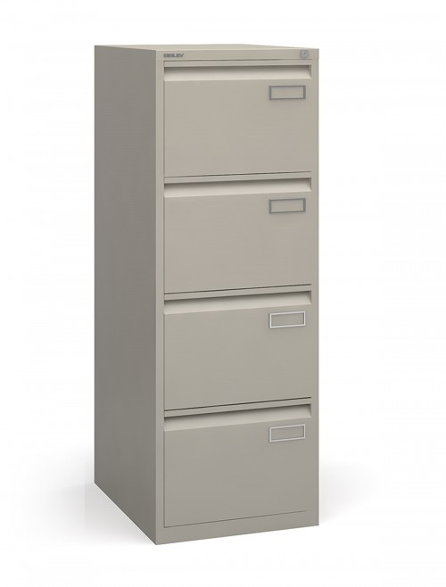 Bisley 4 Drawer Contract Filing Cabinet BPSF4