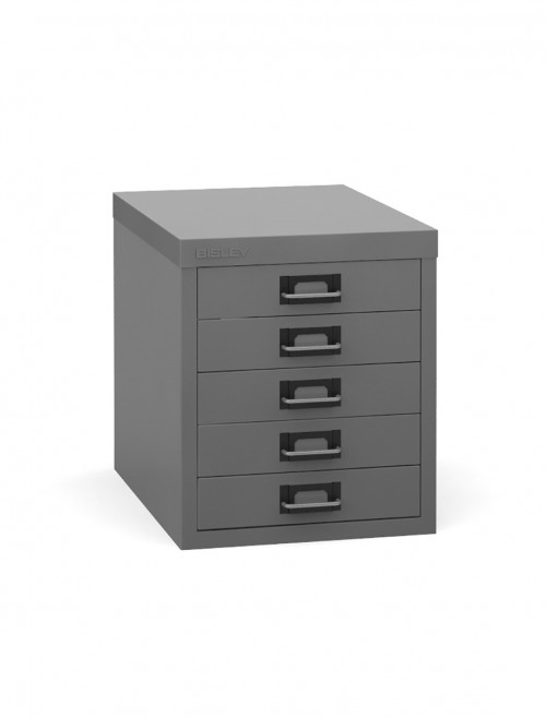 Steel Storage - Bisley 5 Drawer Multi Drawer B5MD