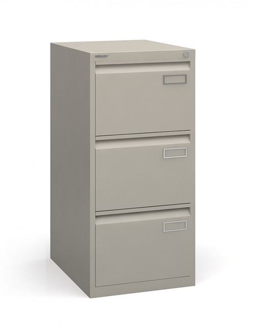 Bisley 3 Drawer Contract Filing Cabinet BPSF3