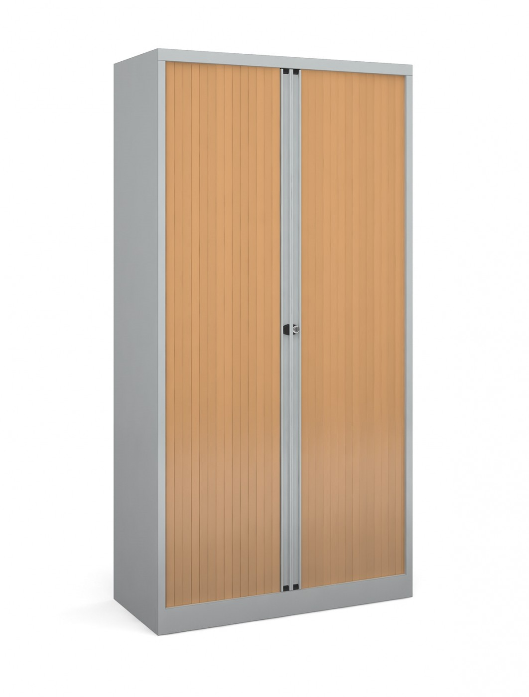 Steel Storage 1985mm High Tambour Cupboard Dst78 121 Office