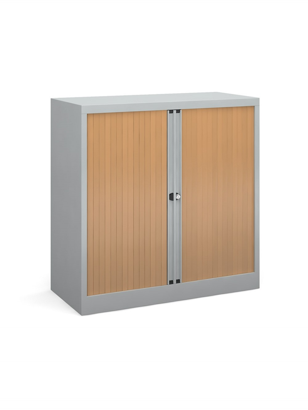 Steel Storage 1015mm High Tambour Cupboard Dst40 121 Office