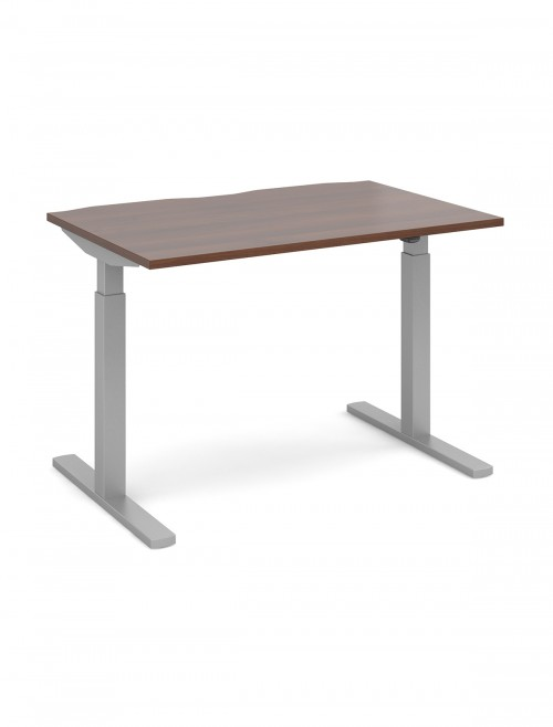 Elev8 Walnut Sit Stand Desks