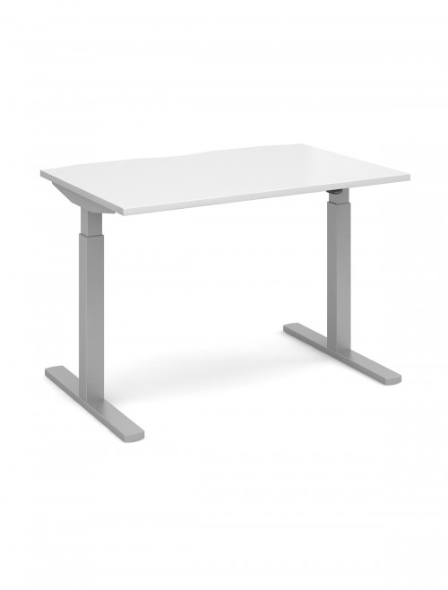 Incroyable Elev8 White Sit Stand Desks