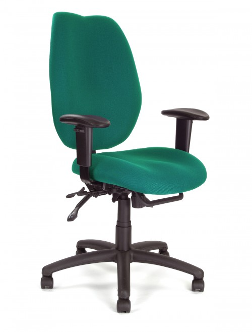 Office Chairs - Thames 24 Hour Ergonomic Chair 1431FBSY/AGN