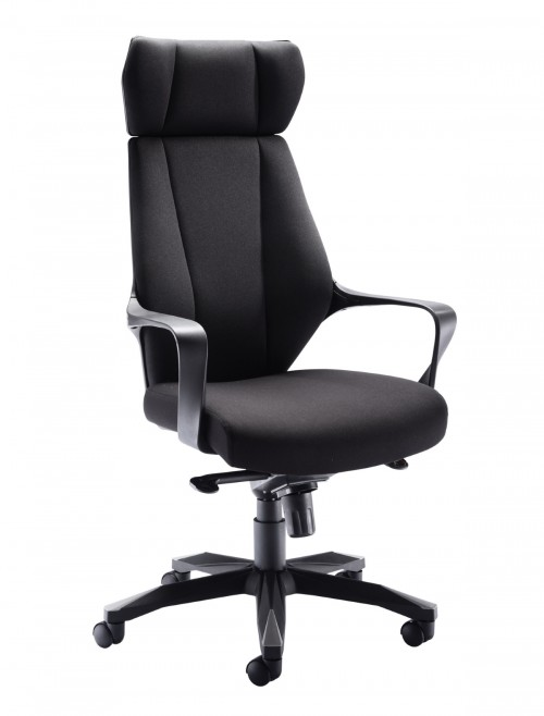 Office Chairs - Rocky Fabric Office Chair CH1783BK