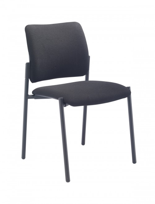 Meeting Chair - Florence Fabric Reception Chairs CH3510BK