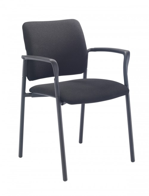 Meeting Chair - Florence Fabric Reception Chairs CH3508BK