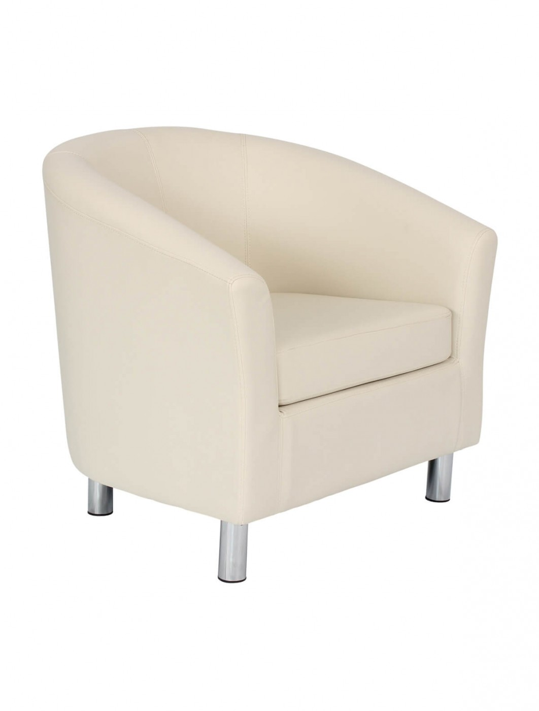 Armchair Pu Leather Tub Chair Of2201ml Reception Chairs