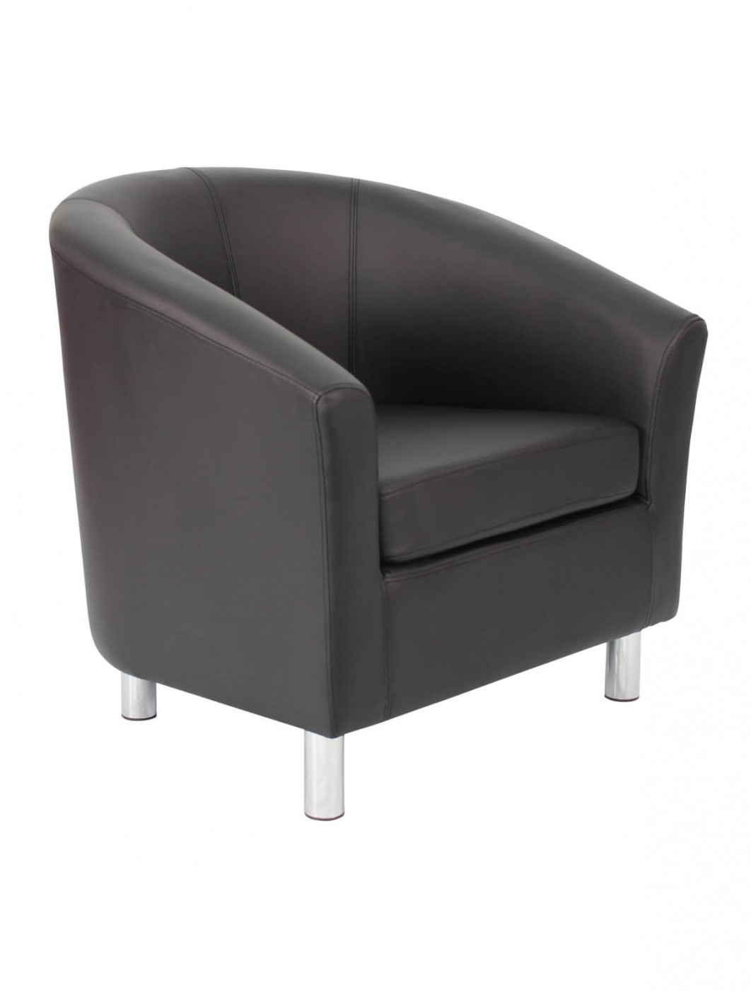 Armchair - PU Leather Tub Chair OF5ML Reception Chairs