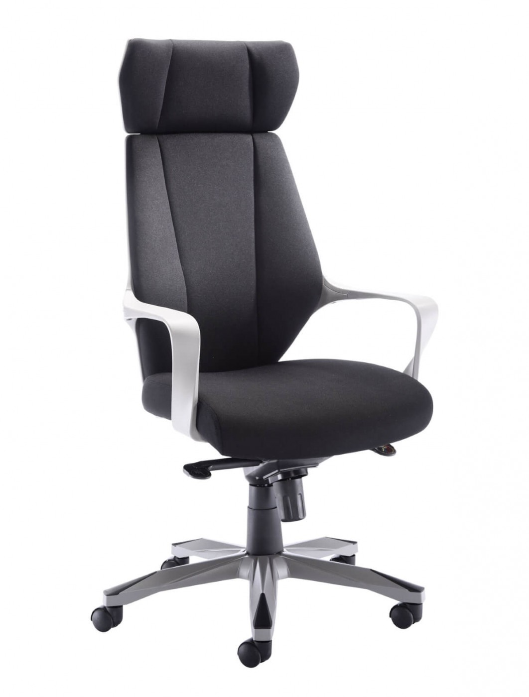Office chairs rocky fabric office chair ch1783grbk enlarged view
