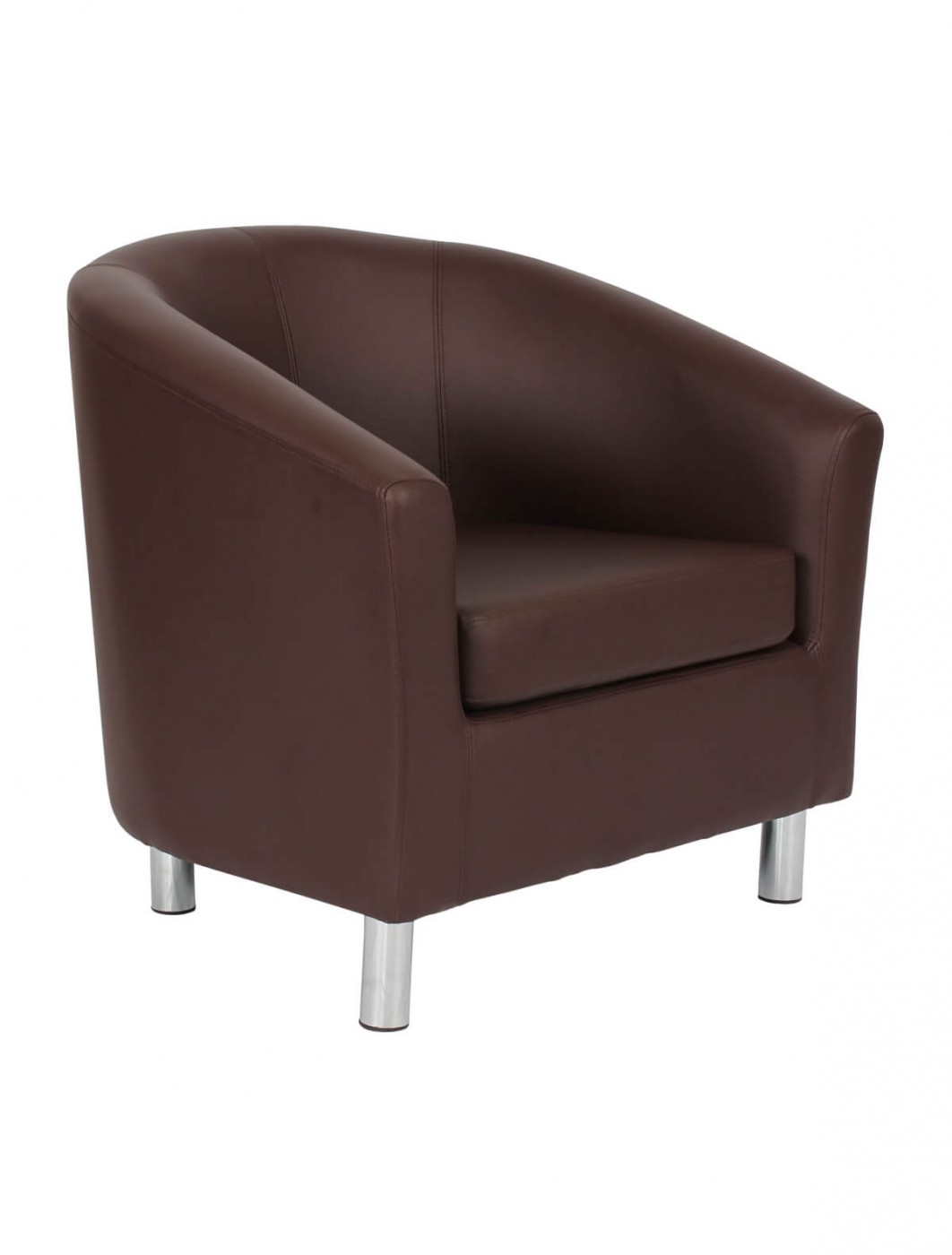 armchair pu leather tub chair of2201ml reception chairs 121