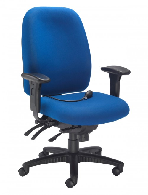 Office Chairs - Vista Fabric Office Chair CH0903RB