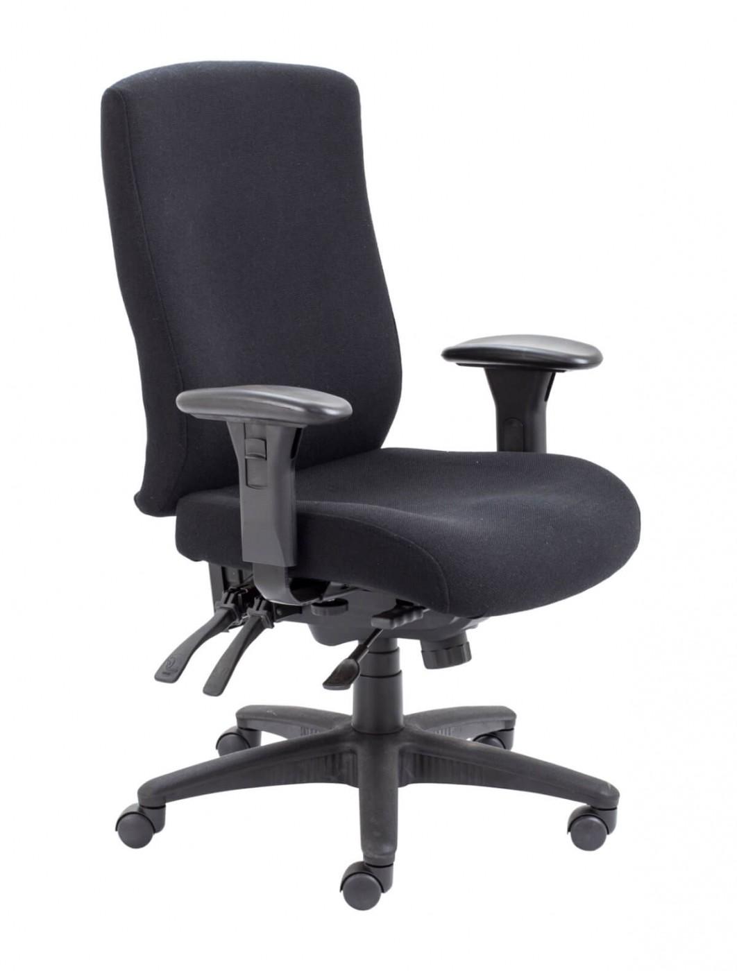 office chairs marathon heavy duty office chair ch1106bk enlarged view - Heavy Duty Office Chairs