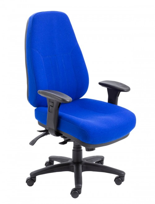 Office Chairs - Panther 24 Hour Fabric Office Chair CH1108MA