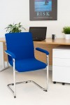 Visitor Chairs - TC Pavia Executive Visitor Chair CH3235RB - enlarged view