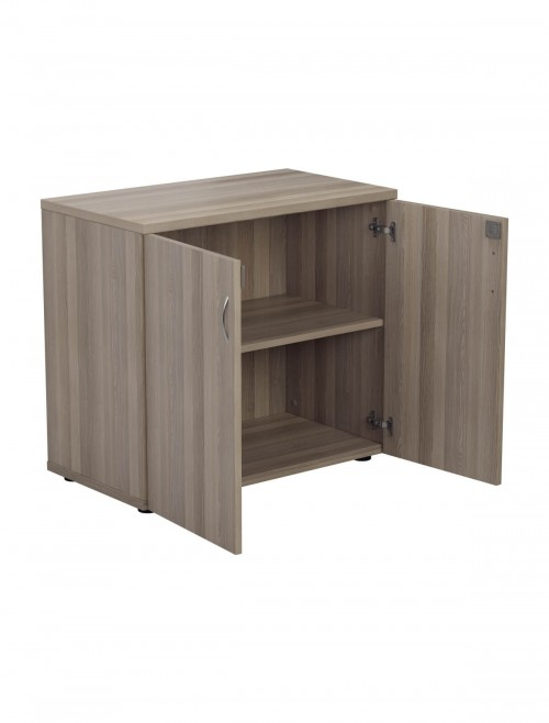 Office Storage Cupboard - Desk High Cupboard TES745CP