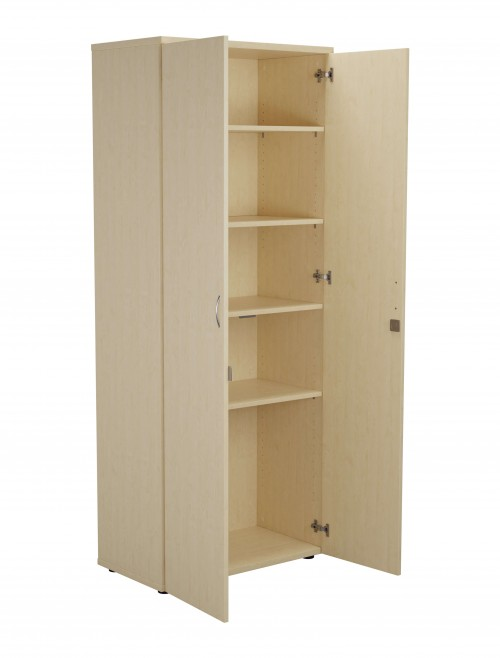 Office Storage Cupboard - 2m Cupboard TES2045CP - Cupboards