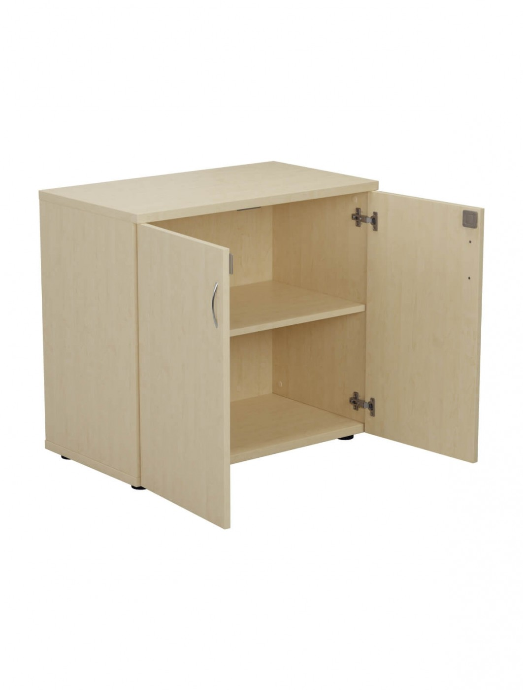 Office Storage Cupboard   Desk High Cupboard TES745CP   Enlarged View