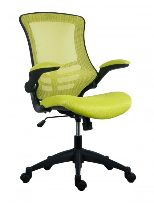 Office Chairs - Marlos Mesh Office Chair in Green CH0790GN