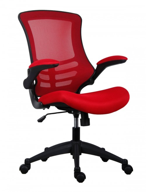 Mesh Office Chair Marlos in Red CH0790RD