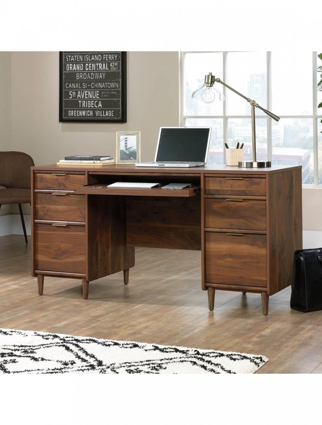 Clifton Place Walnut Office Desk