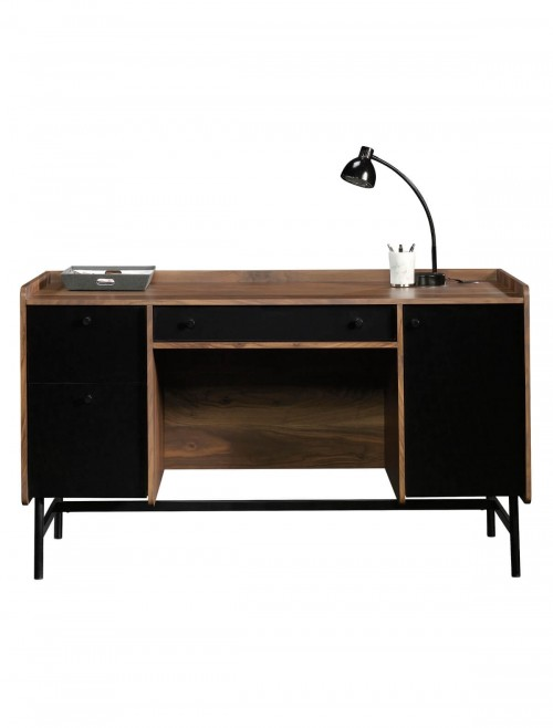 Home Office Desks - Hampstead Park Walnut Office Desk 5420731