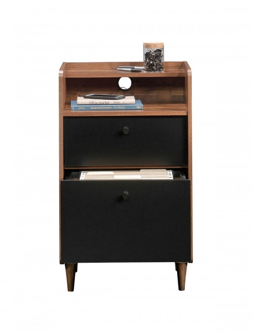 Home Office - Hampstead Park Walnut Office Storage Stand 5420285